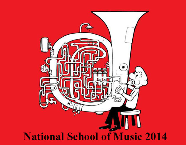 National School of Music ad