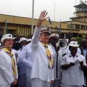 General and Commissioner Cox Lead Anniversary Celebrations in Congo