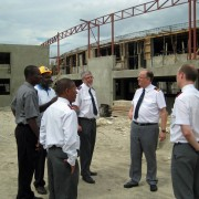 General and Commissioner Cox Spread Gospel in Caribbean