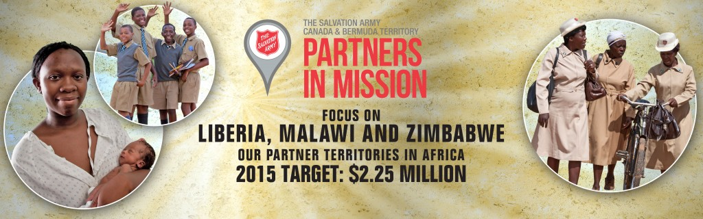 Partners in Mission 2015 Website Banner
