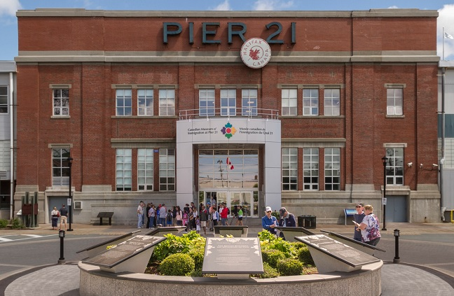The Salvation Army - Salvationist.ca - Pier 21: A Beautiful Legacy