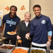 Argos Serve Thanksgiving Dinner at Salvation Army