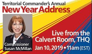 Territorial Commander's New Year Address