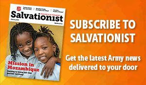 Subscribe to Salvationist 2019