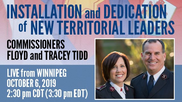 Installation and Dedication of New Territorial Leaders