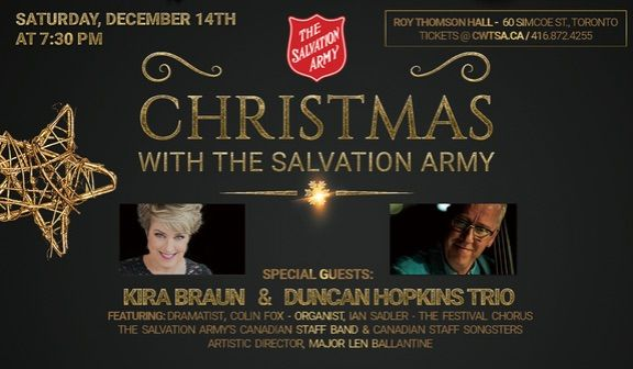 Christmas with The Salvation Army 2019
