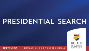 Presidential Search Ad
