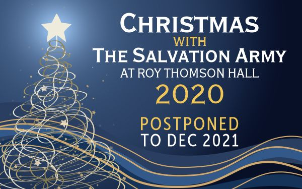 Christmas with The Salvation Army 2020 Postponed