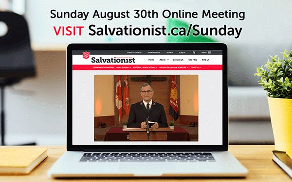 Aug 30 Sunday Online Service