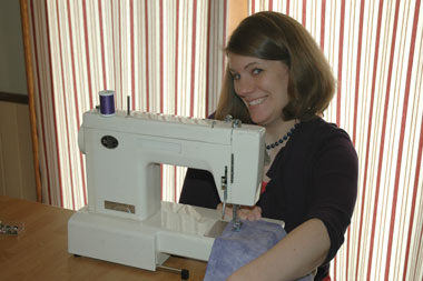 The Salvation Army - Salvationist.ca - Rachel Held Evans learns to sew as part of a year of biblical womanhood