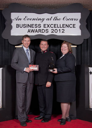 The Prince George Salvation Army wins an environmental leadership award