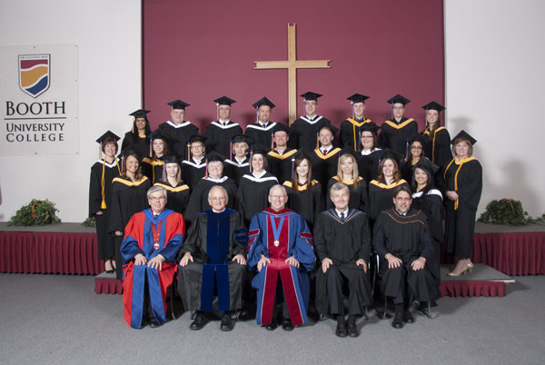 Booth University College welcomes 39 new graduates this spring