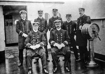 The Salvation Army - Salvationist.ca - The Demise of an Empress - captain and bridge crew