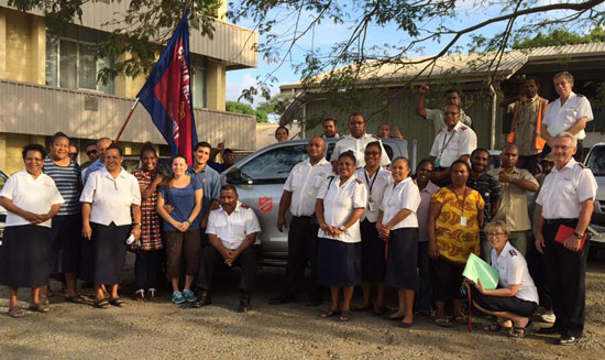 Thanks to the Canada and Bermuda Tty, Barthau and Herrera have a new truck to help them visit patients in remote villages
