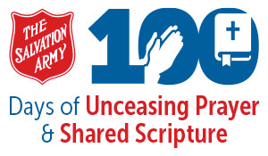 100 Days of Unceasing Prayer and Shared Scripture