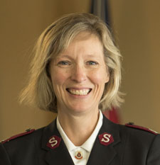 photo of Major Corinne Cameron - Director of Field Education