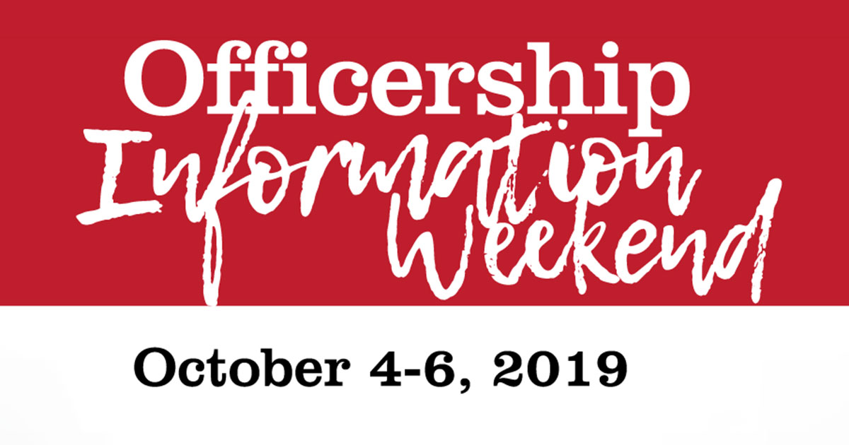Officership Information Weekend