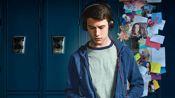 Photo of Clay Jensen, character from 13 Reasons Why