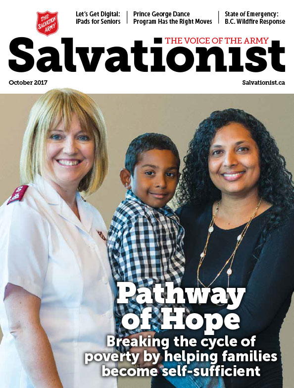 Salvationist Magazine September 2017 issue cover