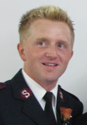 Photo of Cpt Kristian Simms