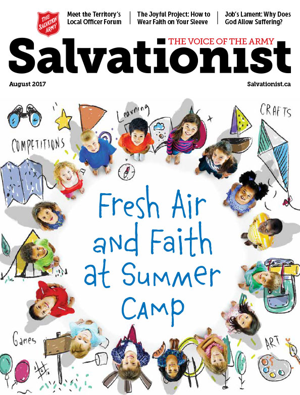 Salvationist Magazine August 2017 issue cover