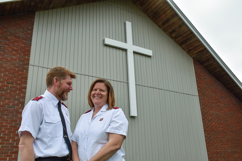 Lts Lance and Monika Gillard are COs at Sussex CC, N.B. (Photos: Kristin Ostensen)