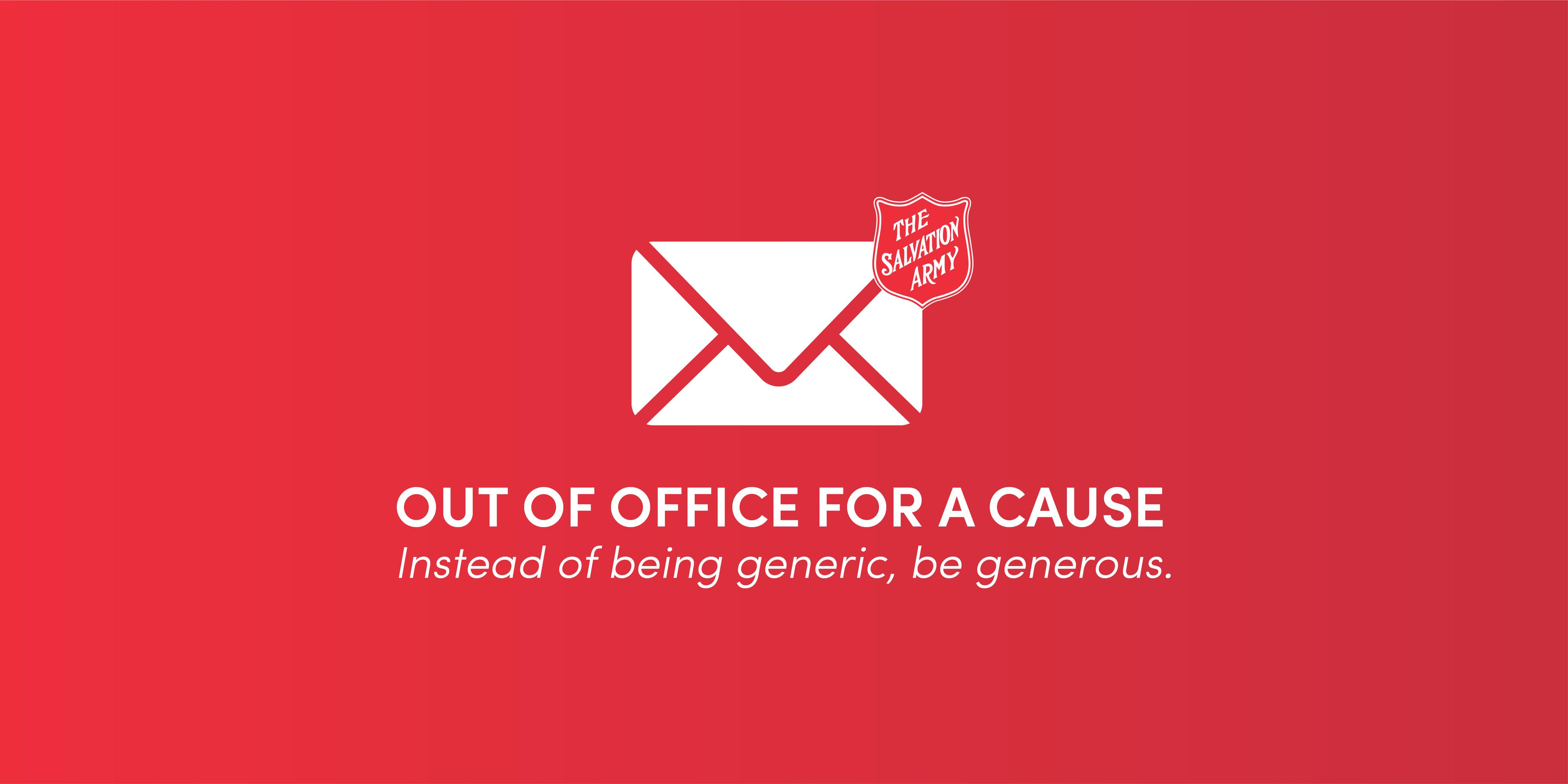 Out of Office for a Cause