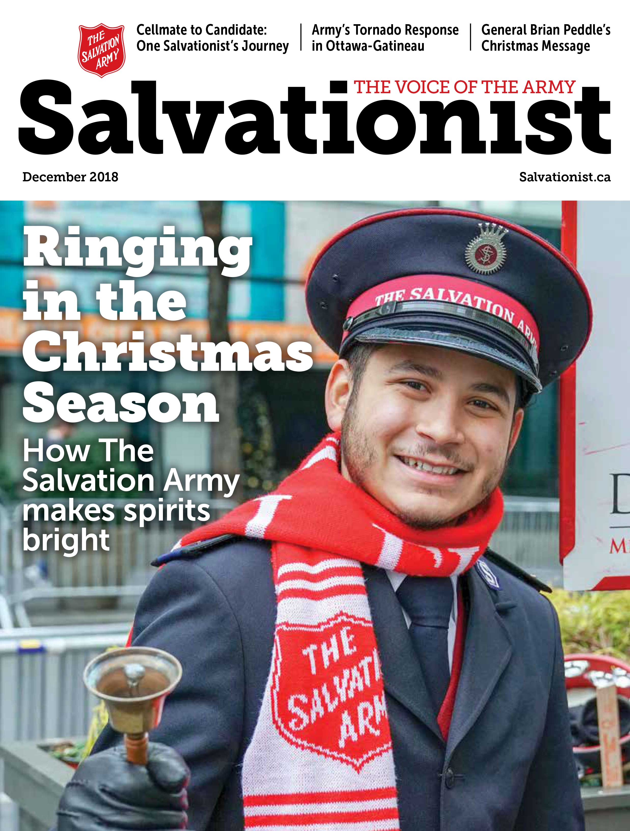 Cover of Salvationist December 2018