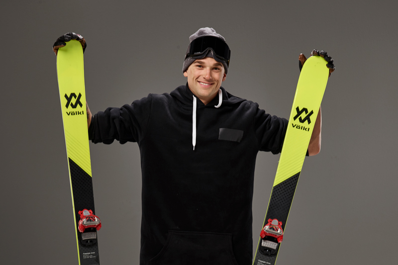 Nick Goepper's love of skiing started when he was 11 (Photo: USOC/NBC Olympics)