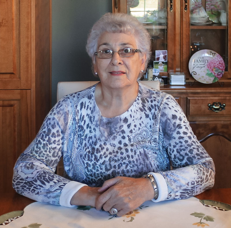 Joan Banfield is thankful for God's faithfulness