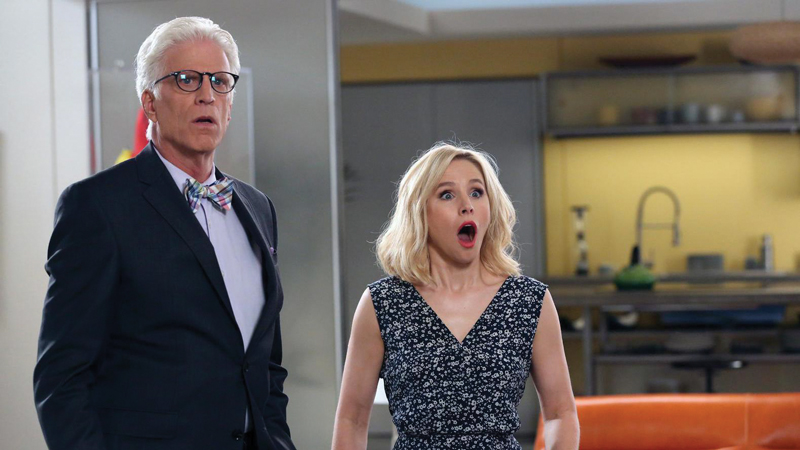 Can Eleanor keep Michael from finding out that she doesn't belong in The Good Place?