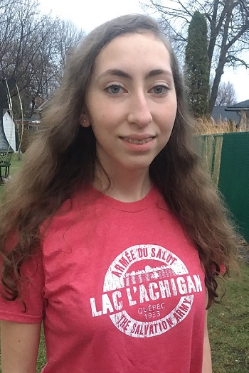 Camp lac l'Achigan is Vanessa Cormier's home away from home