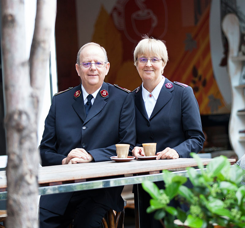 General André Cox and Commissioner Silvia Cox complete their five-year term this summer