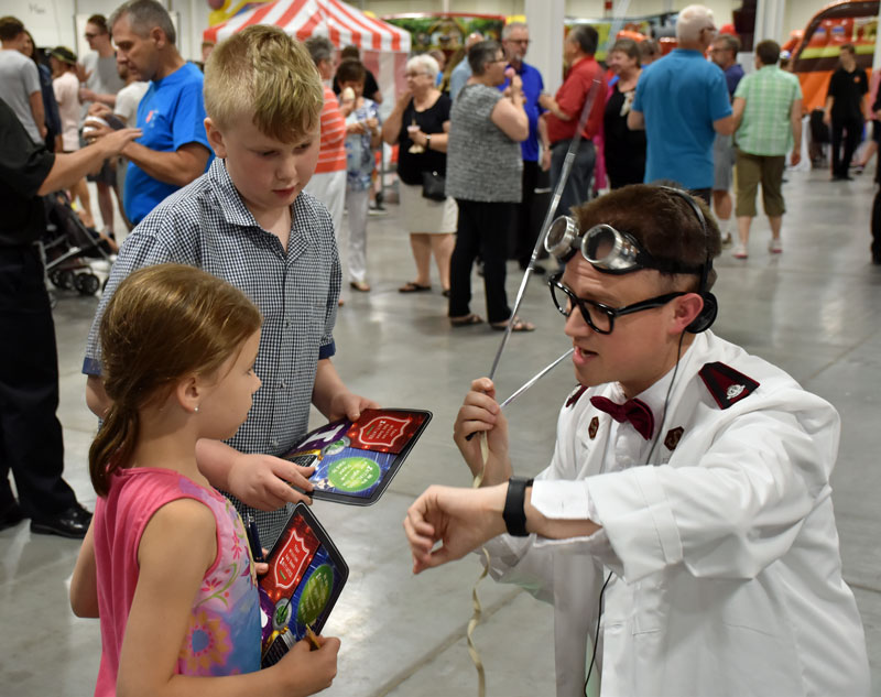 Kids transform into secret agents for the Co-Mission I.N.G. weekend-long program