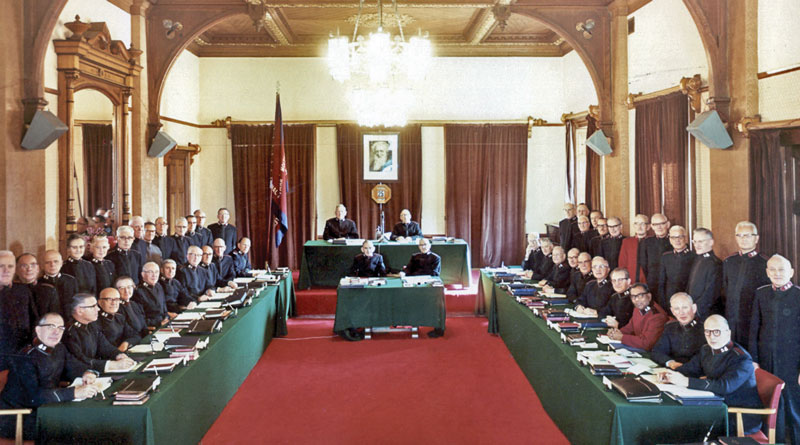 The High Council of 1963 (Photos: The Salvation Army International Heritage Centre)