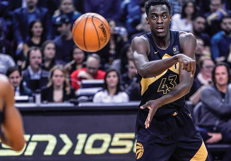 Pascal Siakam was selected as the 27th overall pick in the 2016 NBA draft by the Toronto Raptors