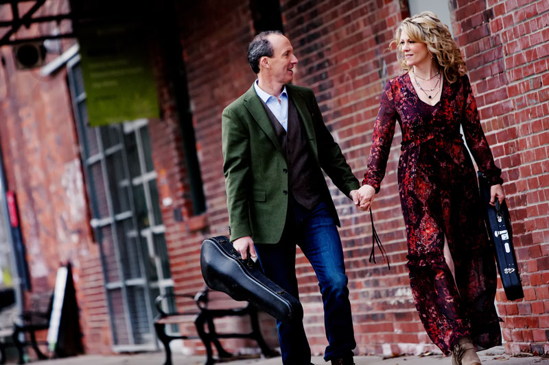 Natalie MacMaster and Donnell Leahy married in 2002 and released their first album together in 2015