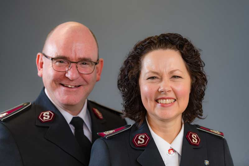 Commissioners Lyndon and Bronwyn Buckingham