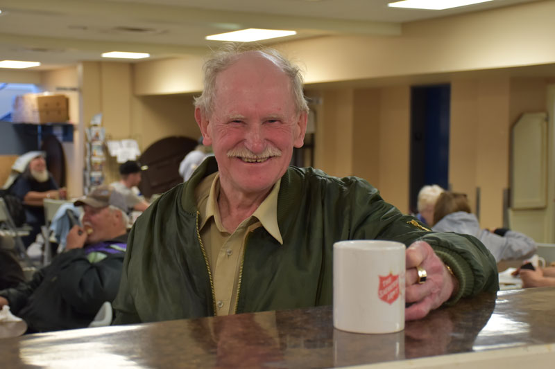 """The best thing about the Friendship Room is the people,"" says Ronald Brandon Duffy"