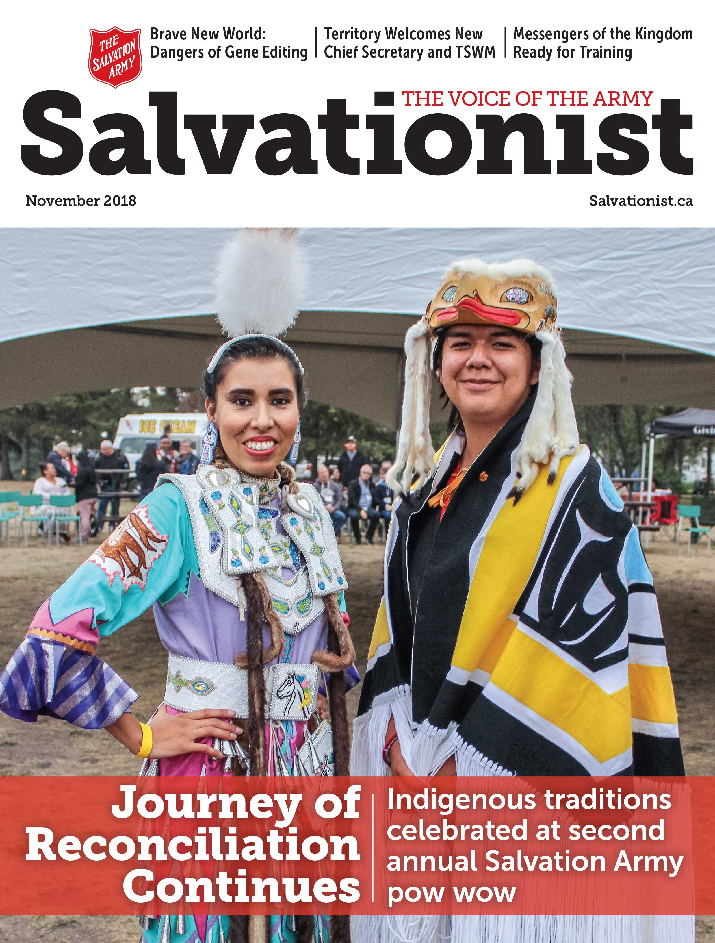 Cover of Salvationist November 2018