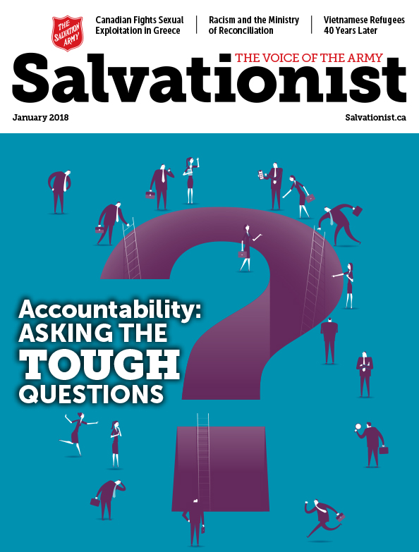 Salvationist Magazine January 2018 issue cover