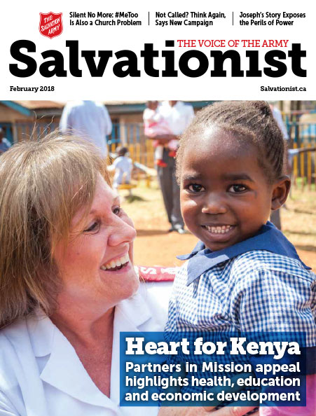 Salvationist Magazine February 2018 issue cover