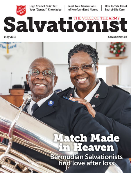 Salvationist Magazine May 2018 issue cover