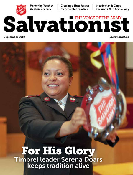 Salvationist Magazine April 2018 issue cover