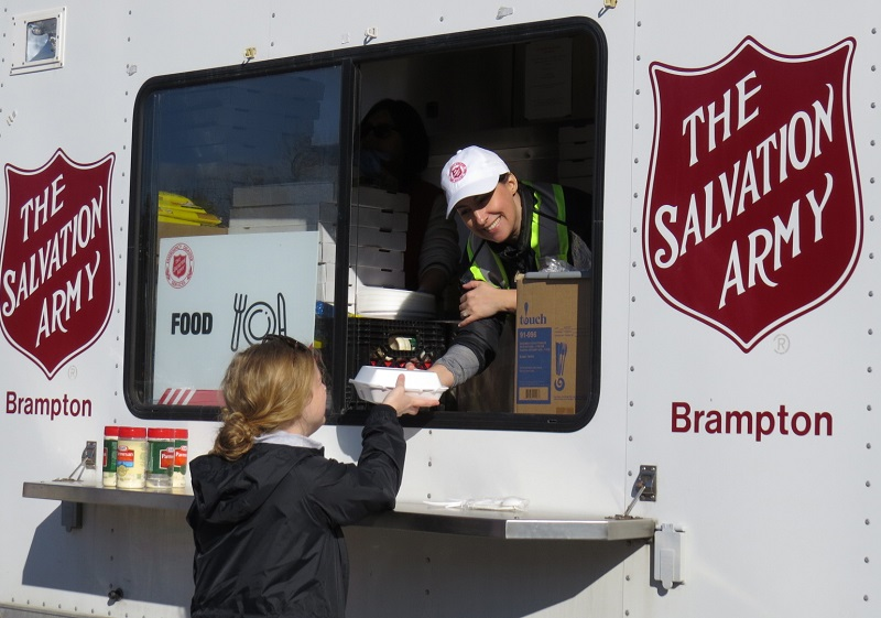 Salvation Army Responds to Flooding in Three Provinces