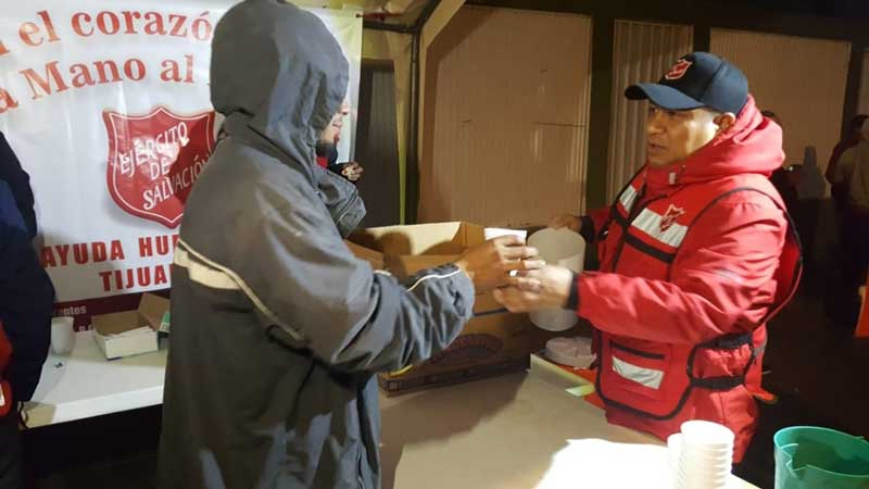 The Salvation Army Supports Migrant Caravan in Mexico