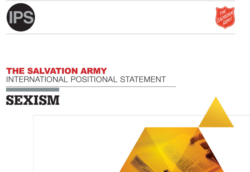 Salvation Army Releases Positional Statement on Sexism