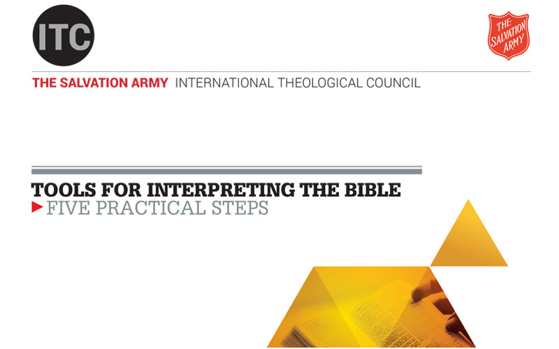 Salvation Army International Theological Council Publishes New Resource