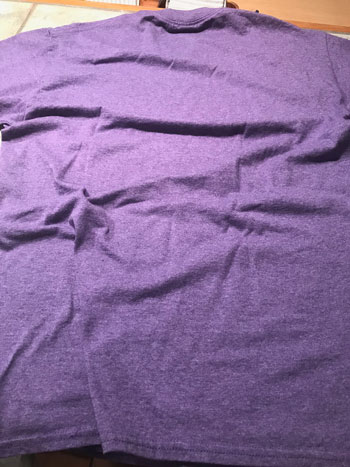 Plain purple T-shirt