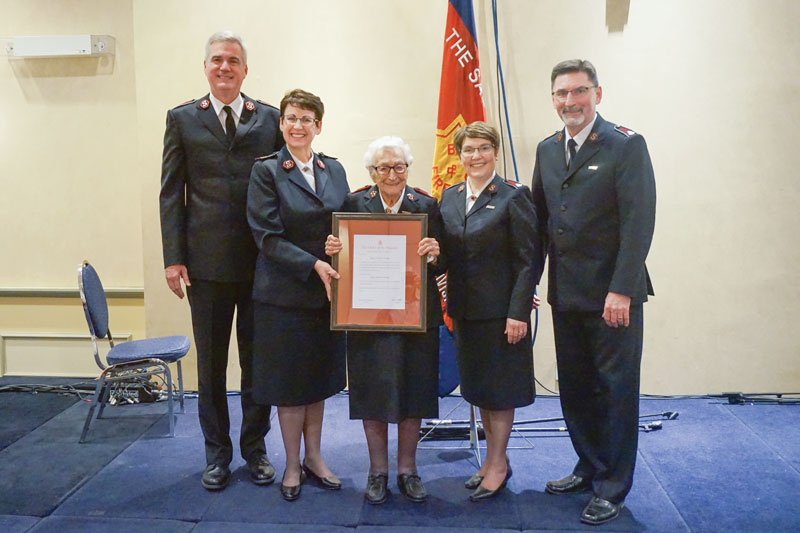 Canadian Officer Receives Order of the Founder
